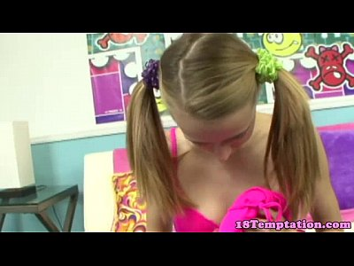 Amateur Pov Teen video: Petite stepsister pov blows stepbrother