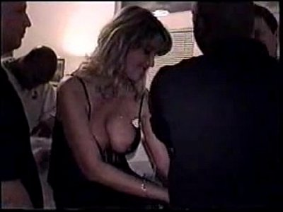 Milf Wife Creampie video: Another Wife Gets Gangbanged and Creampied - more at www.MyFapTime.com