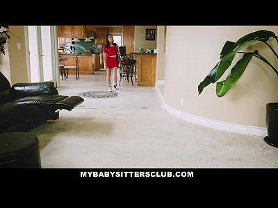 Babysitter Babysitter Bigcock video: MyBabySittersClub - Baby Sitter Gets A Threesome On The Job