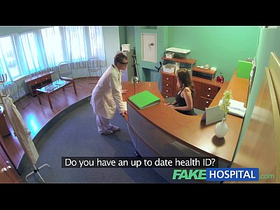 Doctor Exam Hiddencameras video: FakeHospital Doctors compulasory health check
