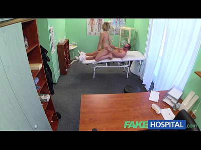 Voyeur Pov Milf video: FakeHospital New doctor gets horny MILF naked and wet with desire