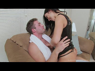 She loves riding her boyfriend in cowgirl