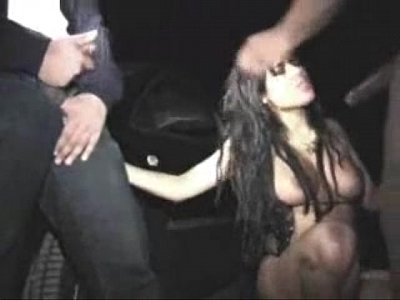 Dogging video: morenita