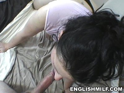 Ass Bbw Blowjob video: English milf Daniella POV blowjob