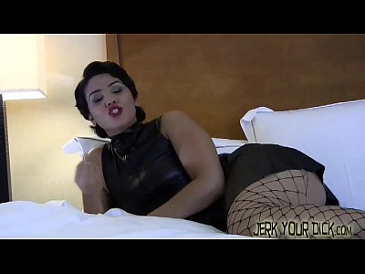 Fetish Humiliation Femdomclips video: Caught jerking in your step sister's room