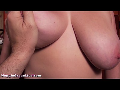 Pov Blonde video: All Nautral Big Tit Milf Maggie Green Gives Blowjob In Locker Room!