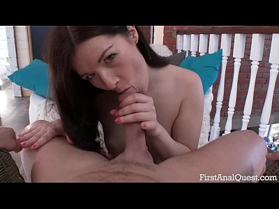 Hot hot girl and her first anal ecstasy