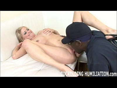 Watch me get filled up with big black cock