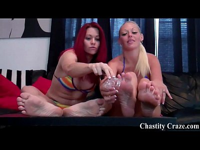 Locked in chastity for 30 days by Princess Ashley