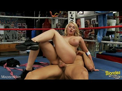 Pov Oral Blonde video: Busty blonde Madison Ivy gets nailed
