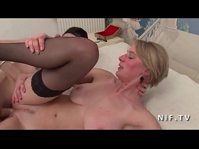 french blond anal
