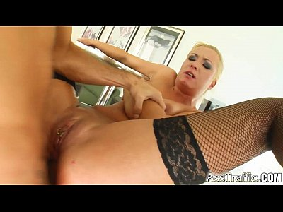Hardcore Squirting Sex video: Ass Traffic Big ass blonde squirts as she's fucked hard