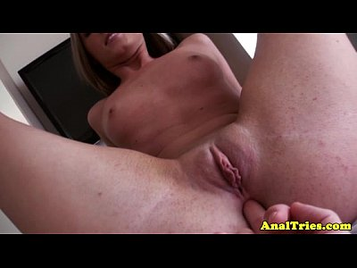 Blonde analsex gf assfingered deeply