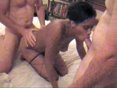 Tag Team - Two Cocks In My Pussy At Once part 2