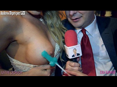 Blowjob lesson by Justyna Gromada and Ilka Summer for Andrea Diprè