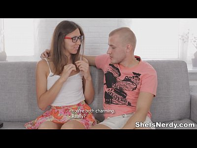 She Is Nerdy - Smart-ass nerdy teeny seduction
