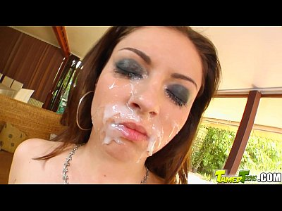 Bigtits Deepthroat Euro video: Tamed Teens firsttimer blindfolded and fucked hard