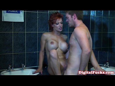 Babes Cougar Doggystyle video: Busty cougar LouKou gets doggystyled