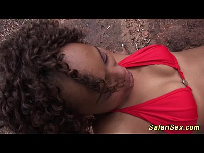 Amateur Bigcock Black video: skinny african safari sex chick
