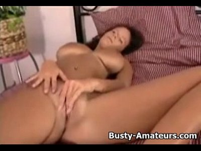 Bigboobs Bigtits Boobs video: Busty Wendy fingering her cute pussy
