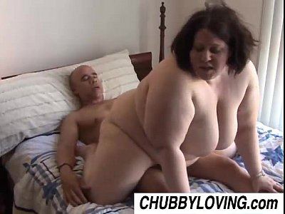 Facial Chubby video: Jellibean is a beautiful busty BBW who loves to fuck