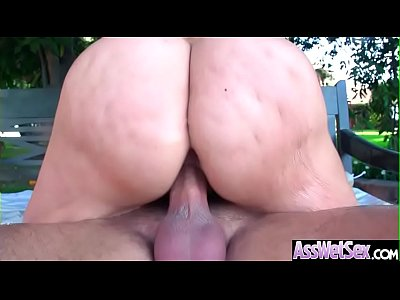 Anal Deep Sex With Big Round Ass Horny Girl (Alena Croft) video-05