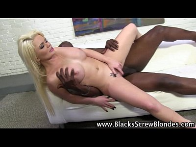 Interracial creampie for alexis ford