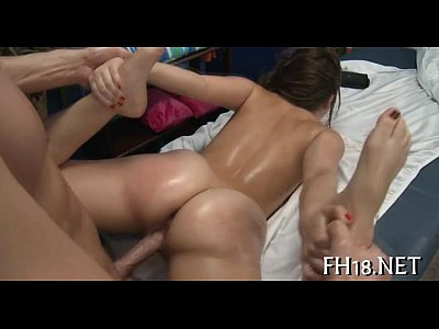 Porno video: Teenie is riding up cock