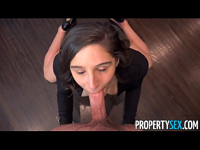PropertySex - College student fucks hot ass rea...