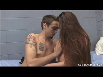 Handjob Cumshot video: Female Prisoner Handjob