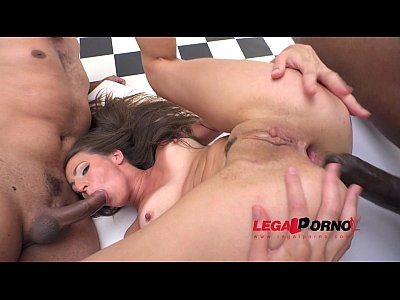 Analbuffet Analfucking Analsex video: Nina Heaven fucked by 4 massive cocks & DP'ed RS156