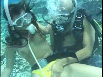 Diving Scuba Sex video: Aqua sex
