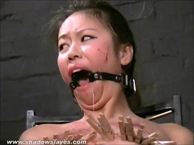 Bdsm Benson Bondage video: Asian bdsm of slave Tigerr Benson in oriental bondage and extreme pain of clothe