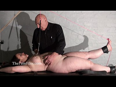 Rack tortured bbw in extreme bondage and crying slave girl Nimue in hardcore bds