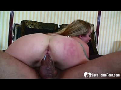 Her asshole takes quite a hard pounding