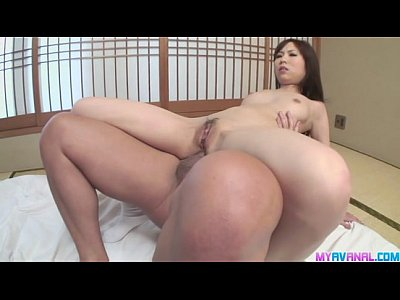 Asian Blowjob Group video: Threesome with Karen turns into crazy double penetratio