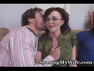 Fetish Brunette Wife video: Hot Housewife Loves Showing Her Big Tits