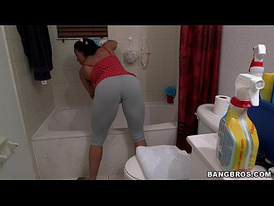 Latina Maid Money video: Thick Maid