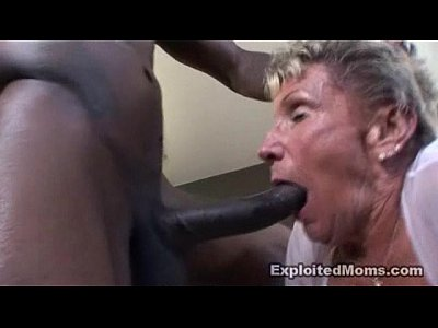 Interracial Granny video: Granny Shirley gets fucked by Wesley Pipes