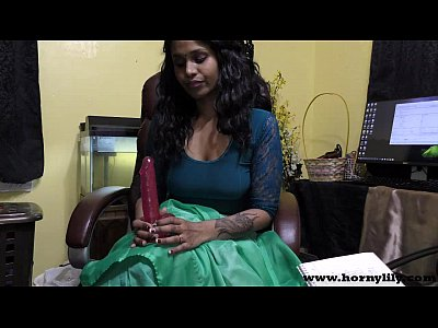 Hindi Sex teacher gives a JOI