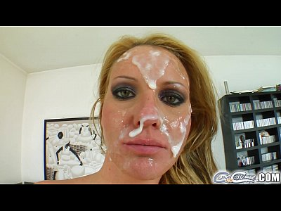 Hardcore Bukkake Oral video: Cum For Cover facial cum bath for deepthroat expert