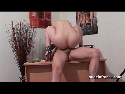 Anal Ass Bigtits video: Big titted amateur doctor hard sodomized on her desk
