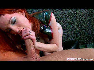 Blowjob Facial Redhead video: PureXXX Films Zara Du Rose fucked hard