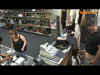 Hardcore Pov xxx: Stewardess sells her stuff and pounded in the pawnshop