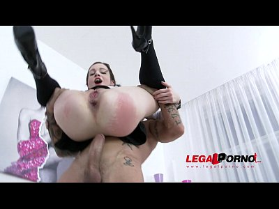 Analfucking Ass Assgape video: Teen sluts Rebecca & Ksenija anal & DP 4some for Legal Porn SZ1169