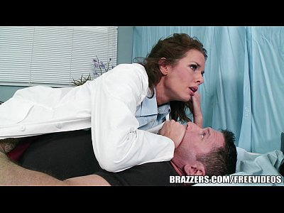 Brazzers Brunette Cougar video: Veronica Avluv helps her paitent with his problem