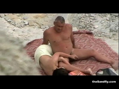 Sexo Amateur thesandfly hottest public beach action