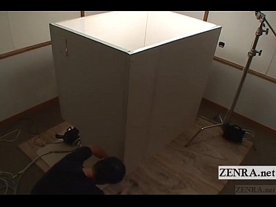 Bdsm Bizarre Blindfold video: Blindfolded Japanese women escorted into box Subtitles