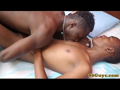 Black Blowjob Bareback video: African amateurs ass play and suck cock