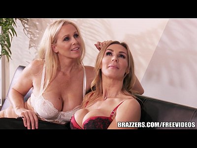British Stockings Blonde video: Brazzers - Julia Ann - Double Your Pleasure